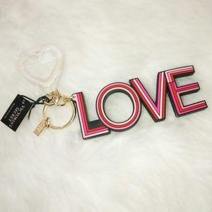 Victoria's secret Love Keychain